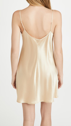 Silk Short Slip Dress