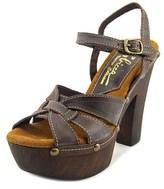 Sbicca Olympia Women Open Toe Leather Platform Sandal.