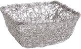 Asstd National Brand St. Croix Trading Square Twist Wire Mesh Basket