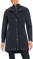 Jones New York Jones Hooded Quilted Coat
