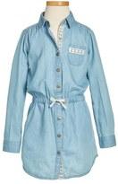 Girl's Tucker + Tate Denim Shirtdress
