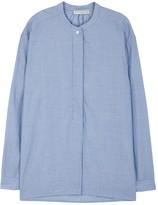Vince Blue Striped Cotton Tunic