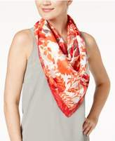 Vince Camuto Foliage Square Scarf