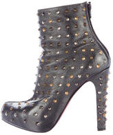 Christian Louboutin Ariella Clou Studded Ankle Boots
