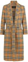 Burberry Re-issued Vintage Check Dressing Gown Coat