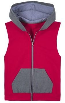 Fruit of the Loom Boys 4-18 Fleece Full Zip Sleeveless Vest