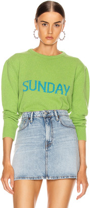 Alberta Ferretti Sunday Sweater in Fantasy Green | FWRD