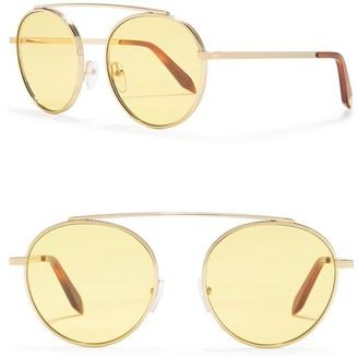 Victoria Beckham 54mm Round Sunglasses
