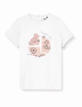 3 Pommes Baby Girls' 3q10002 Tee-Shirt Mc T