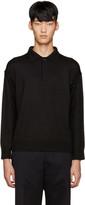 TOMORROWLAND Black Wool Polo