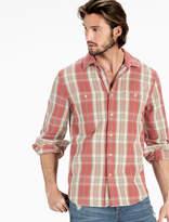 Lucky Brand Jacquard Mason Workwear Shirt