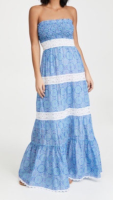 Temptation Positano Almafi Ruched Long Dress