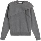 J.W.Anderson Merino Wool Draped Pullover