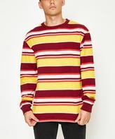 Insight Replay Long Sleeve T-Shirt Burgundy