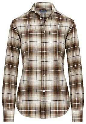 Polo Ralph Lauren Georgia Plaid Slim Shirt