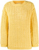 Ermanno Scervino chunky knit jumper