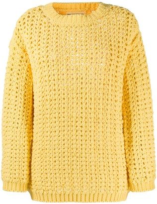 Ermanno Scervino Chunky Knit Jumper