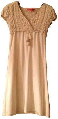 Manoush Ecru Cotton Dress for Women