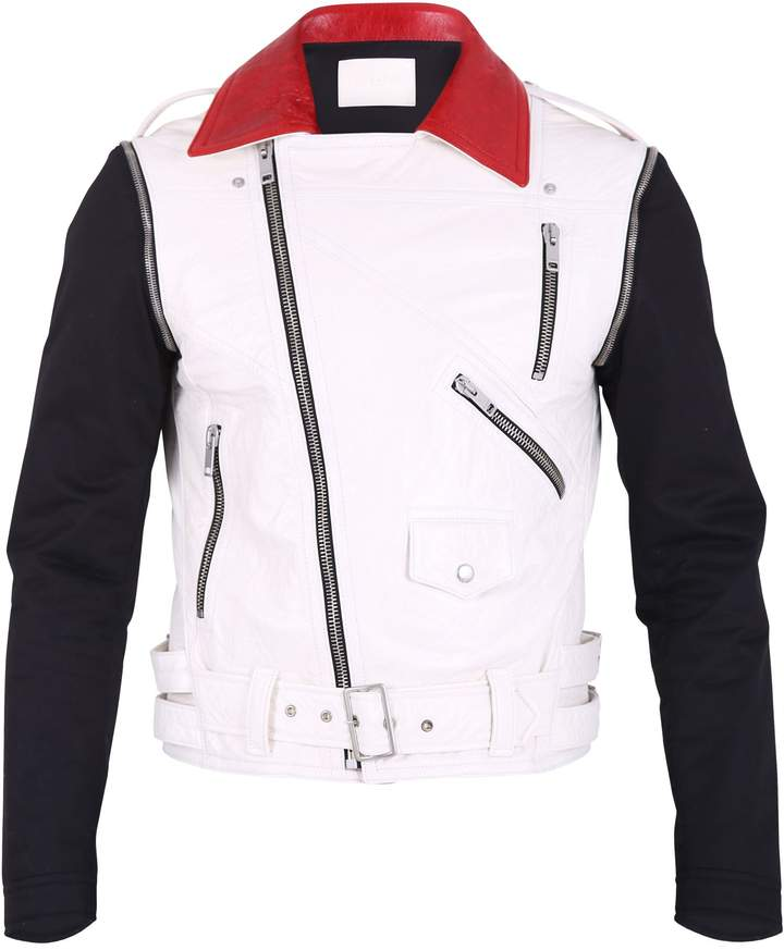 Givenchy Multicolored Biker Jacket