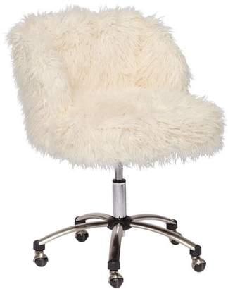 Pottery Barn Teen Faux-Furlicious Desk Chair
