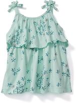 Old Navy Ruffled Starfish-Print Tank for Baby