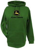 John Deere Western Sweatshirt Womens Glitter Logo L 23020024