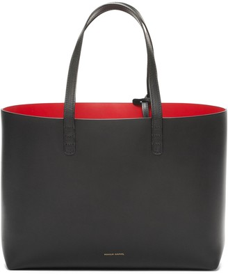 Mansur Gavriel Small Tote - Black/Flamma