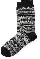 Polo Ralph Lauren Fair Isle Knit Boot Socks