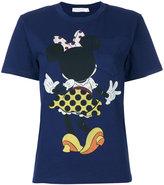 Victoria Beckham Minnie Mouse pocket T-shirt - women - Cotton - 1