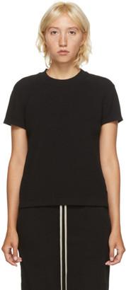 Rick Owens Black Thermal Level T-Shirt