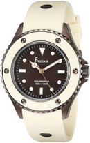 Freelook Women's HA9035B-3M Beige Band & Bezel Dial Watch