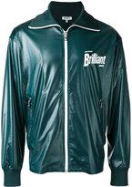 Kenzo logo zip jacket - men - Cotton/Polyester/Spandex/Elastane - L