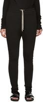 Rick Owens Black Skinny Lounge Pants
