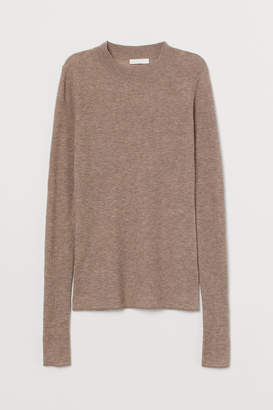 H&M Fine-knit cashmere-mix jumper