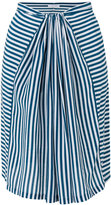 Humanoid striped skirt - women - Silk - S