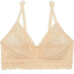 Cosabella Sweet Treats Ruched Stretch-lace Bralette