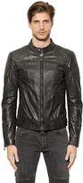 Belstaff Outlaw Waxed Leather Moto Jacket