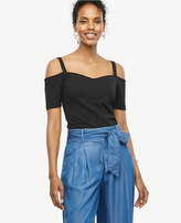 Ann Taylor Sweetheart Off The Shoulder Top