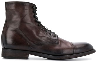 Pantanetti lace-up ankle boots