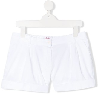 Il Gufo TEEN plain chino shorts
