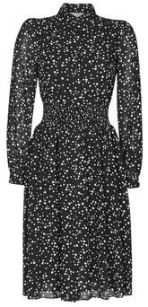MICHAEL Michael Kors SCATTERED PEARL DRS women's Long Dress in Black