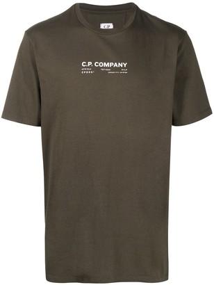 C.P. Company Graphic Print T-Shirt