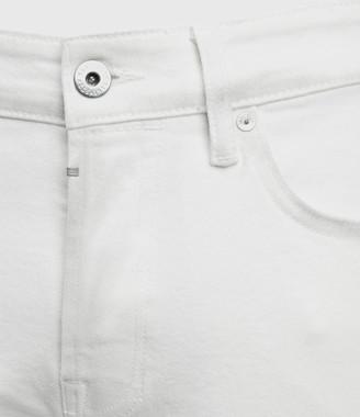 AllSaints Rex Slim Jeans, White
