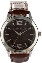 Perry Ellis Croc Strap Watch
