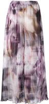 Ermanno Gallamini - printed palazzo pants - women - Polyester - XS