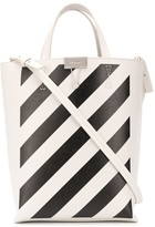 Off-White Off White striped tote bag
