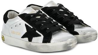 Golden Goose Kids Superstar low-top sneakers