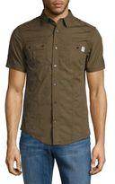 ProjekRaw Striped Cotton Casual Shirt