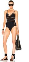 Zimmermann Paradiso Bonded Lattice Swimsuit