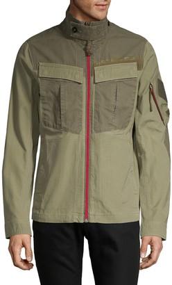 G Star Raw Colorblock Cotton Jacket